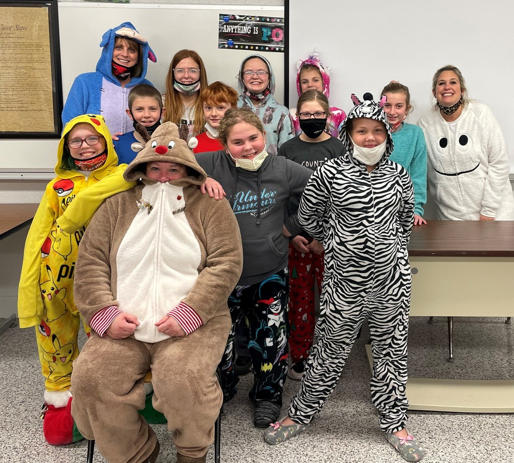 Pajama Day Dec. 2020