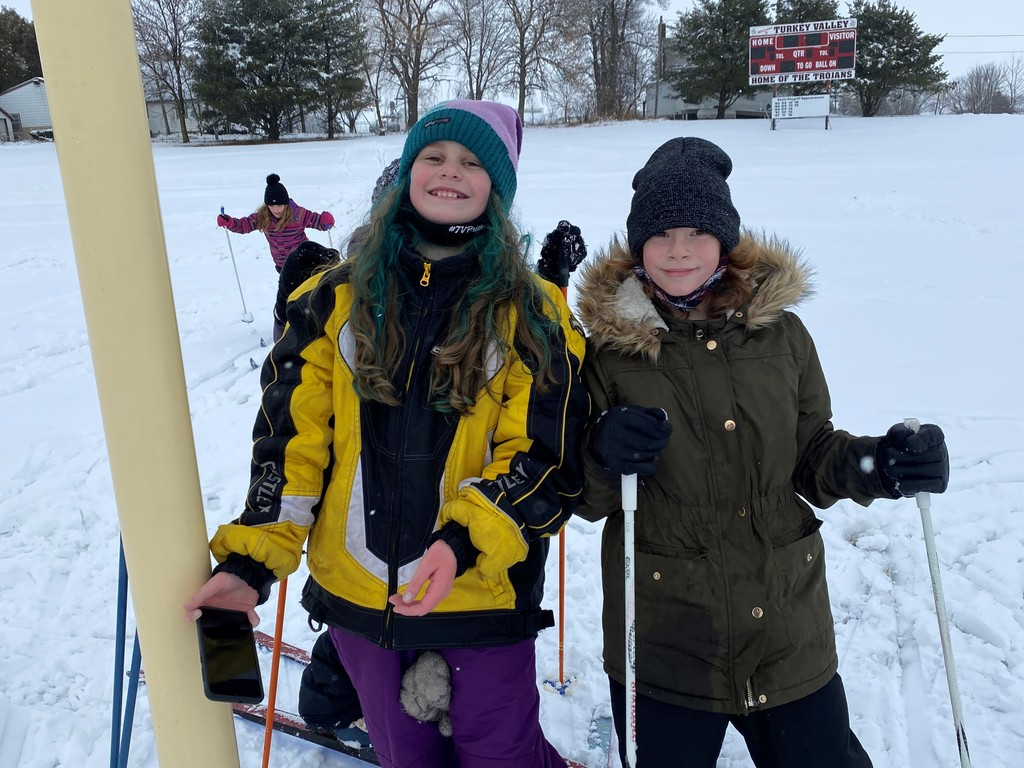 4th grade skiing Jan. 2021
