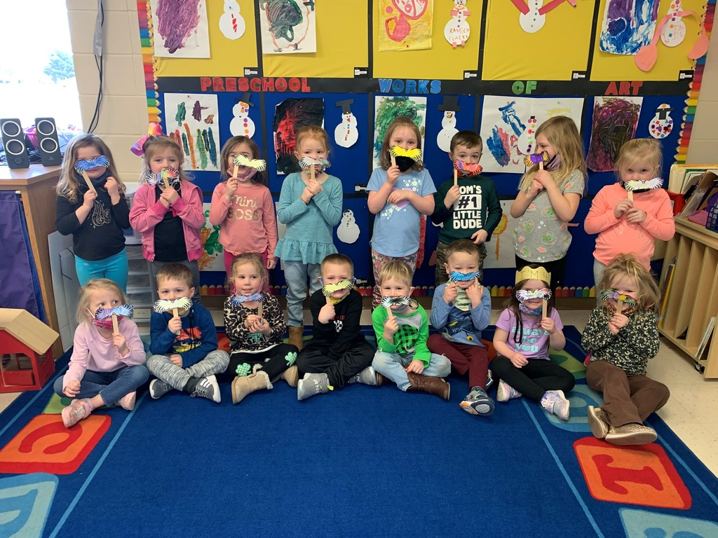 PreK Dr. Seuss celebrations March 2021