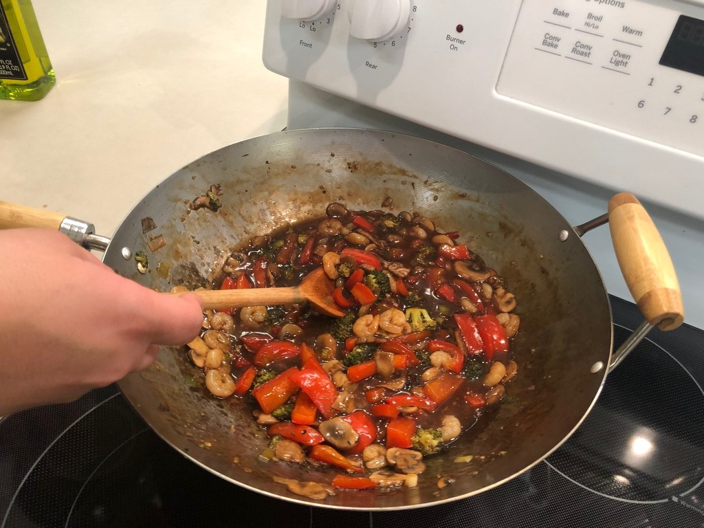 Stir-fry foods April 2021