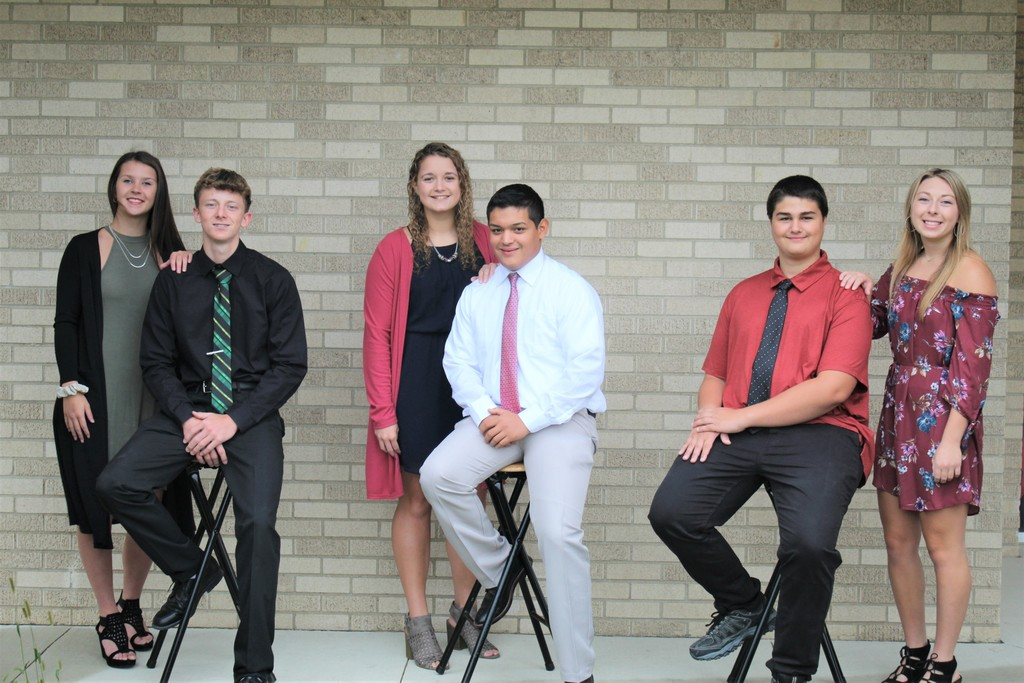 Homecoming Court Sept. 2020