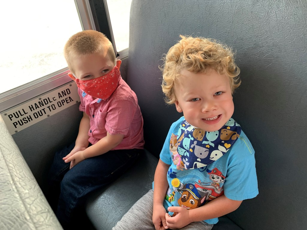 Preschool bus safety August 2020