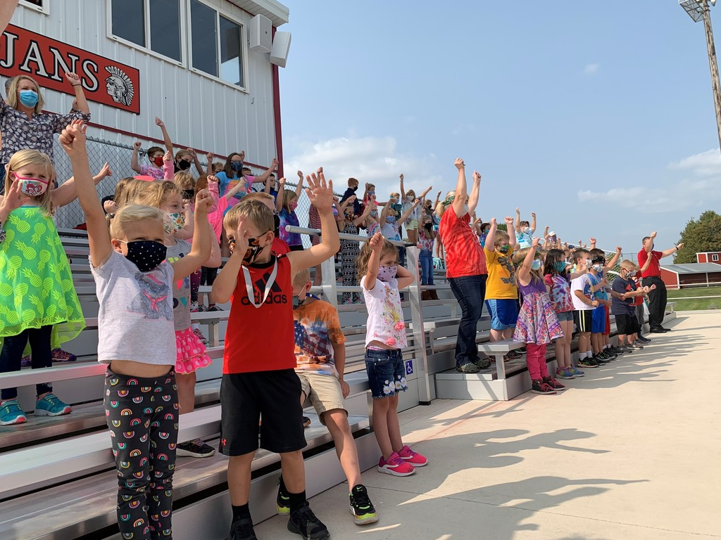 Homecoming Elementary Pep Rally 2020