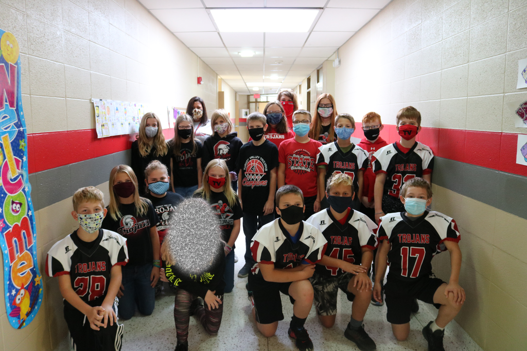 Homecoming 6th grade Spirit Day 2020