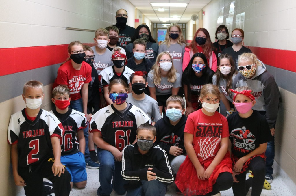 Homecoming 5th grade Spirit Day 2020