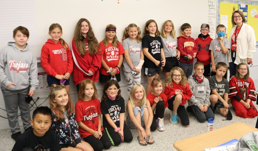 Homecoming 4th grade Spirit Day 2020