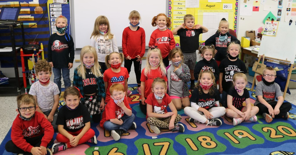 Homecoming Spirit Day kindergarten 2020