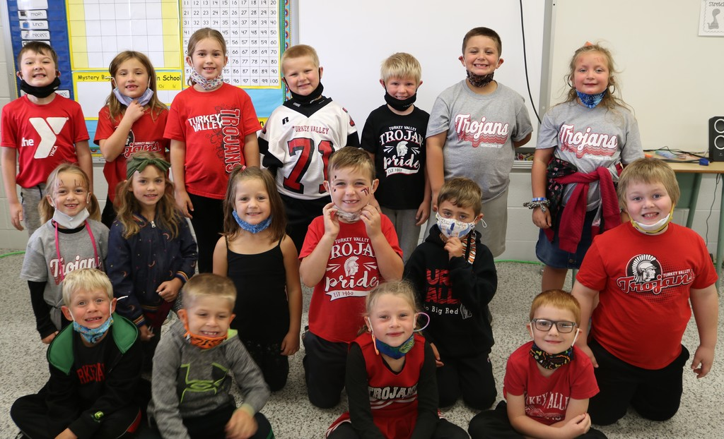 Homecoming Spirit Day 1st grade 2020